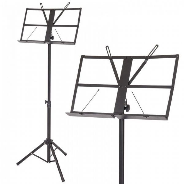 KINSMAN HEAVY DUTY MUSIC STAND - BLACK -Boxed - OPS6